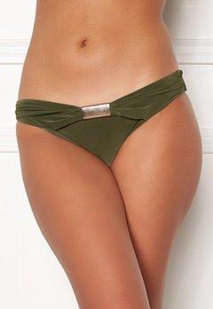 Goddiva Resort Halterneck Bikini Bottom khaki Bubbleroom.no