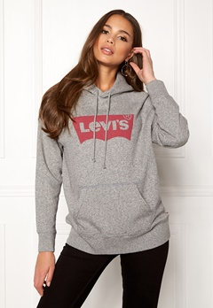LEVI'S Graphic Sport Hoodie Housemark Smokestack Bubbleroom.no