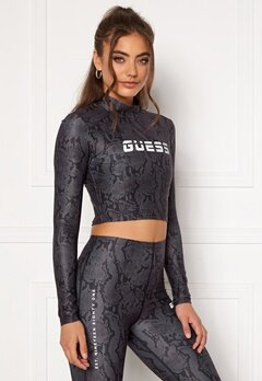 Guess Cropped Top Long Sleeve GBAM Bubbleroom.no