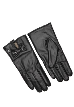 Guess Not Coordinated Gloves Black Bubbleroom.no