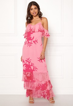 Guess Olinda Dress Flower Impact Pink Bubbleroom.no