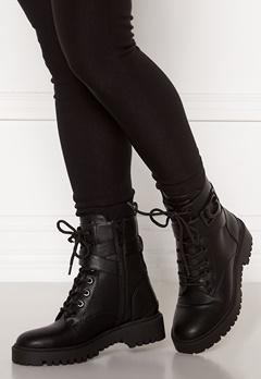 Guess Orana Leather Bootie Black Bubbleroom.no