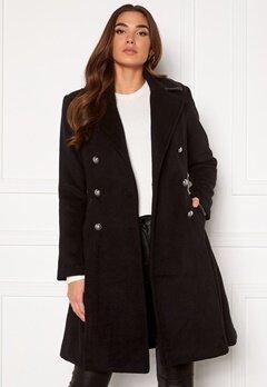 Guess Rossana Coat JBLK Jet black Bubbleroom.no