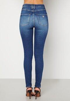 Guess Super High Skinny Jeans Wild Walk Bubbleroom.no