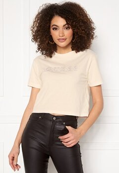 Guess T-Shirt G65A White Blush Bubbleroom.no
