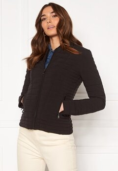 Guess Vera Jacket JKLK Jet Black A996 Bubbleroom.no