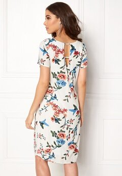 Happy Holly Addy dress Offwhite / Patterned Bubbleroom.no