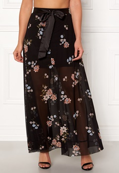 Happy Holly Alaina maxi skirt Black Bubbleroom.no