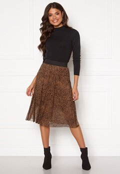 Happy Holly Alaina mesh skirt Leopard Bubbleroom.no