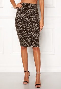 Happy Holly Alexandra skirt Leopard Bubbleroom.no