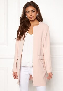 Happy Holly Alina coat Light pink Bubbleroom.no