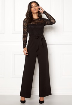 Happy Holly Amalia jumpsuit Black Bubbleroom.no