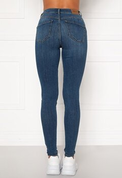 Happy Holly Amy push up jeans Medium denim Bubbleroom.no