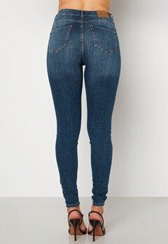 Happy Holly Amy push up jeans Medium denim bubbleroom.no