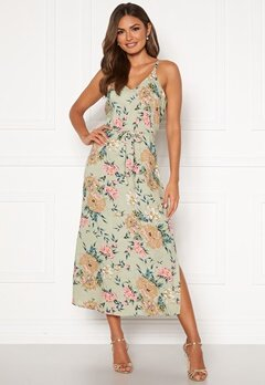 Happy Holly Annabelle dress Beige / Floral Bubbleroom.no