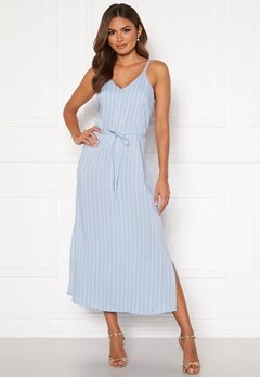 Happy Holly Annabelle dress Light blue / Striped Bubbleroom.no