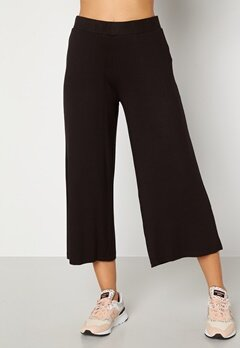 Happy Holly Anne Trousers Black Bubbleroom.no