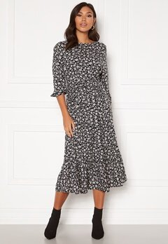 Happy Holly Annie dress Black / Patterned Bubbleroom.no
