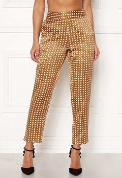 Happy Holly Athena pants Cinnamon / Patterned Bubbleroom.no