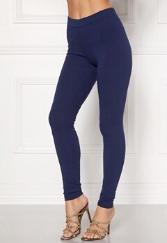 Happy Holly Beata Leggings Navy / Black Bubbleroom.no