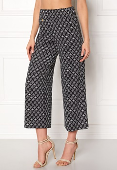 Happy Holly Bianka pants Black / Patterned Bubbleroom.no