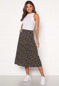 Happy Holly Bianka skirt Black / Patterned Bubbleroom.no