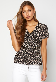 Happy Holly Blake blouse Black / Patterned Bubbleroom.no