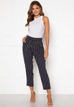 Happy Holly Blake pants Dark blue / Striped Bubbleroom.no