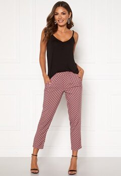 Happy Holly Blake pants Dusty pink / Dotted Bubbleroom.no