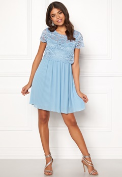 Happy Holly Blanche occasion dress Light blue Bubbleroom.no