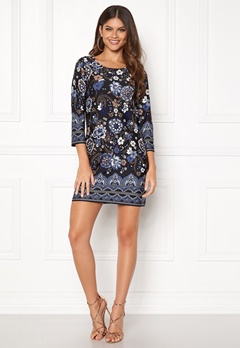 Happy Holly Blenda dress Blue / Patterned Bubbleroom.no