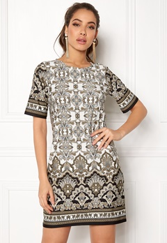Happy Holly Blenda dress Mole / Patterned Bubbleroom.no
