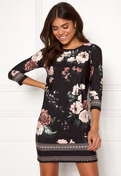 Happy Holly Blenda dress Patterned / Black Bubbleroom.no