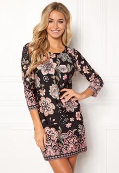Happy Holly Blenda dress Black / Patterned Bubbleroom.no