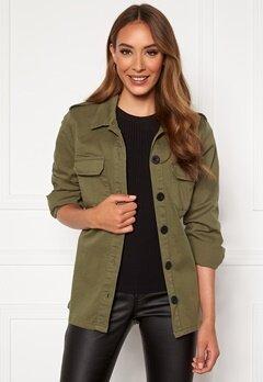 Happy Holly Cindy jacket Khaki green Bubbleroom.no