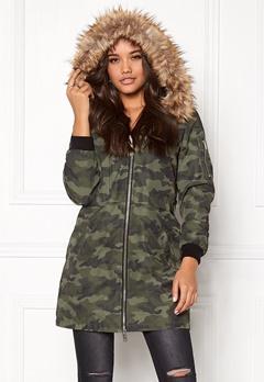 Happy Holly Clara jacket Camouflage Bubbleroom.no