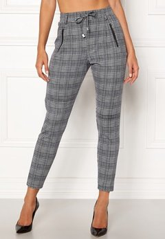 Happy Holly Cleo Trousers Checked Bubbleroom.no