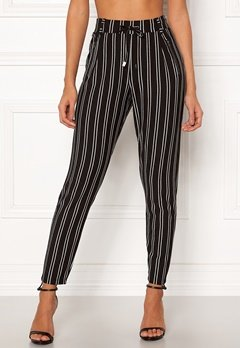 Happy Holly Cleo Trousers Striped Bubbleroom.no