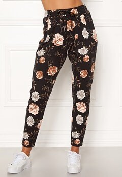 Happy Holly Cleo Trousers Floral Bubbleroom.no