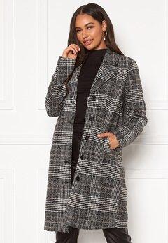 Happy Holly Corinne checked coat Checked / Black bubbleroom.no