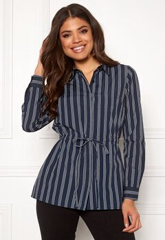 Happy Holly Corinne shirt tunic Striped Bubbleroom.no