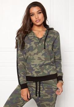 Happy Holly Dana Sweatshirt Camouflage / Black Bubbleroom.no