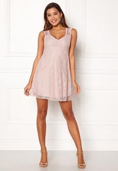 Happy Holly Della lace dress Dusty pink Bubbleroom.no