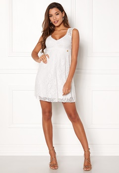 Happy Holly Della lace dress White Bubbleroom.no