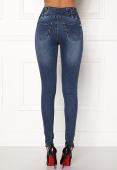 Happy Holly Elena jeans Medium denim Bubbleroom.no