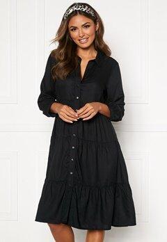 Happy Holly Elsie midi dress Black Bubbleroom.no