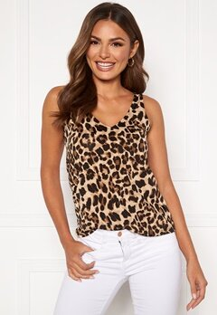 Happy Holly Embla singlet Leopard Bubbleroom.no