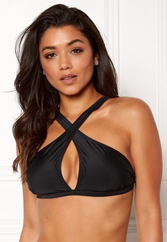 Happy Holly Emma bikini bra Black Bubbleroom.no
