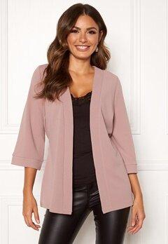 Happy Holly Estelle kimono jacket Dusty pink Bubbleroom.no