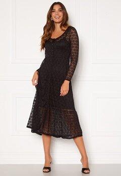 Happy Holly Evelina lace dress Black Bubbleroom.no